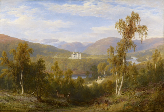 , 'A View of Balmoral ,' 1848, Royal Collection Trust