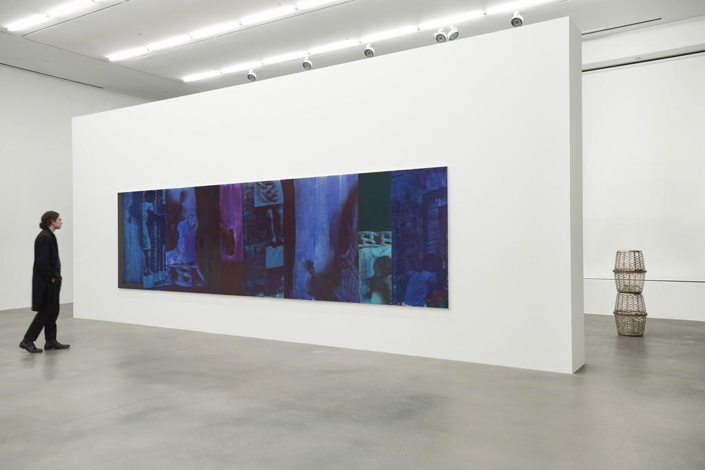 Installation view, 'Lorna Simpson. Unanswerable', Hauser & Wirth London, 2018 Photo: Alex Delfanne