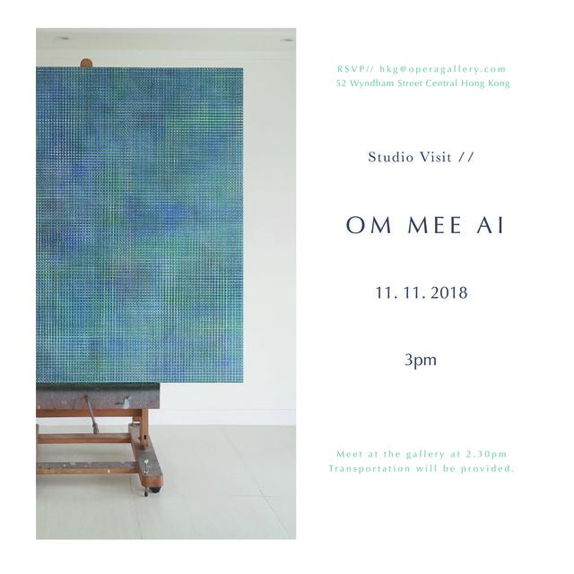 , 'Mee Ai Om Studio Visit,' 2018, Hong Kong Art Gallery Association
