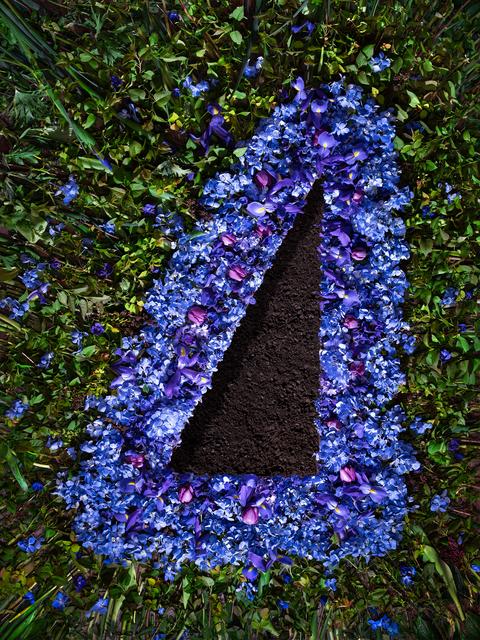 , 'Flowers and Dirt (Blue),' 2018, Winston Wächter Fine Art