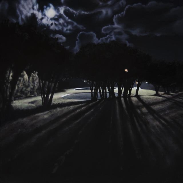 , 'Night Pool II,' 2017, Barnard