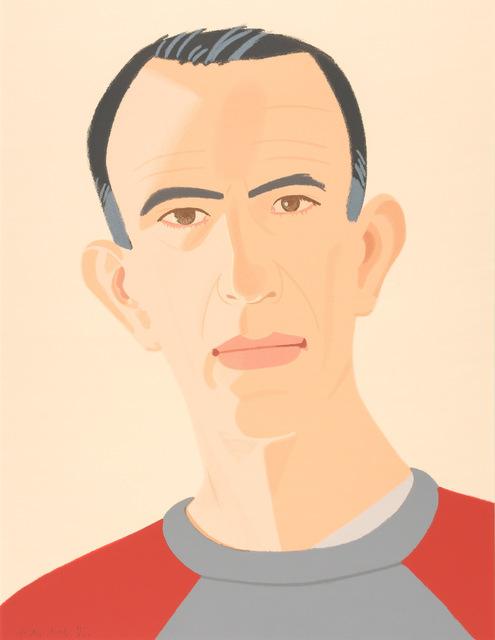 Alex Katz, 'Sweatshirt II (Self Portrait) (S. 248)', 1990, Doyle