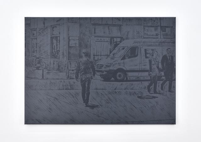 , 'Untitled (van),' 2017, PRAZ-DELAVALLADE