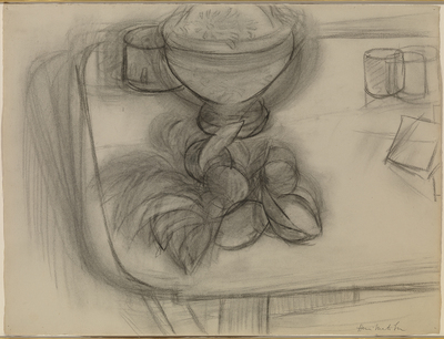 , 'Corbeille d'ananas et fruits,' 1926, Waterhouse & Dodd