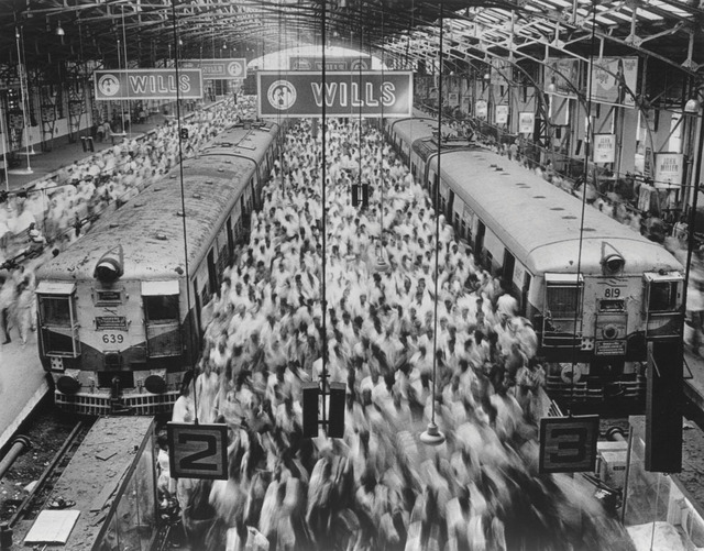 , 'Church Gate Station, Western Railroad Line, Bombay India,' 1995, Sundaram Tagore Gallery