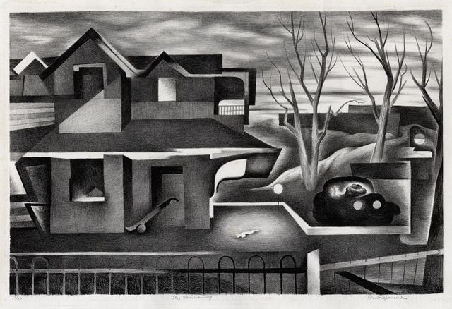 Benton Spruance, 'The Homecoming.', 1935, Print, Lithograph, The Old Print Shop, Inc.