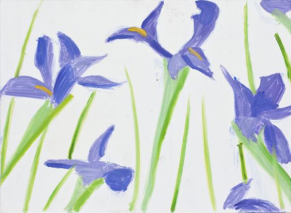 , 'Irises,' , Patrick De Brock Gallery