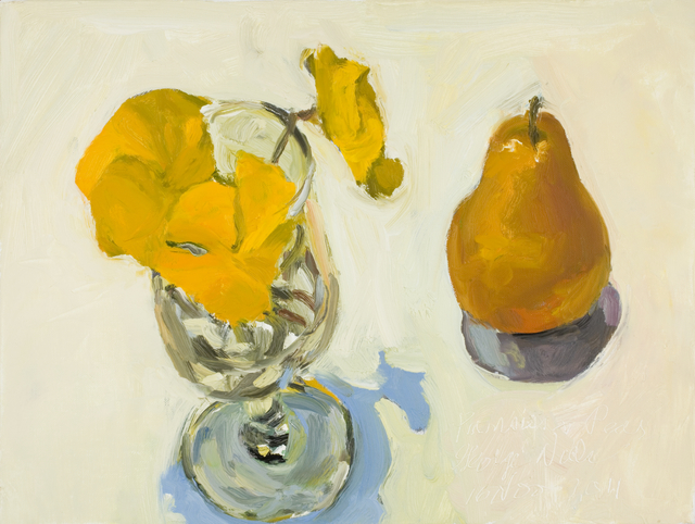 , 'Pansies & Pear 16 Nov 2011,' 2011, Gallery NAGA