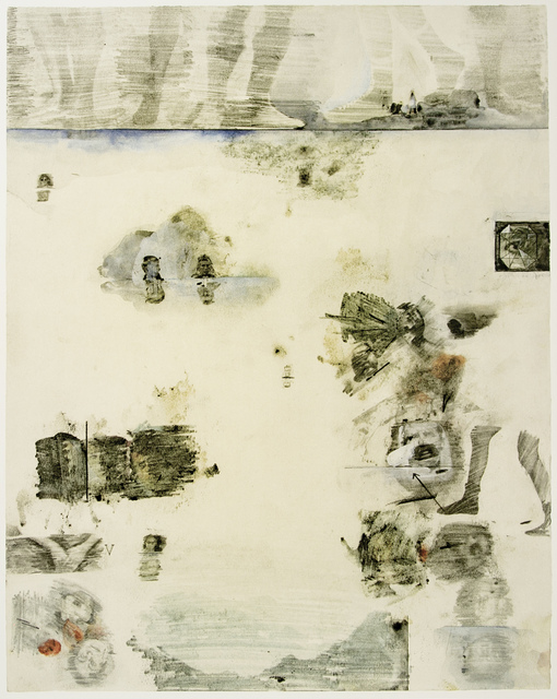 Robert Rauschenberg, 'Dante's Inferno - From the Ninth Circle, a Lithograph by Robert Rauschenberg', 2017, White Cross