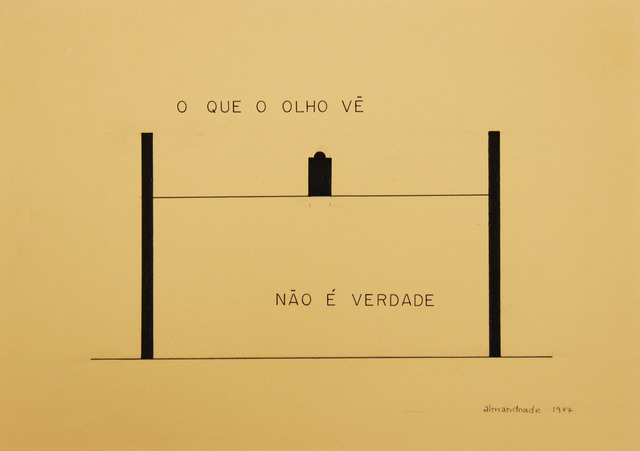 , 'Untitled - Visual Poem,' 1977, Roberto Alban Galeria de Arte