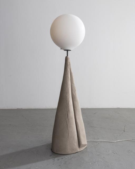 ", '""Marsha"" Floor Lamp. 2018. Unique. Pierre Yovanovitch, Paris. Hand-made ceramic, handblown glass.,' 2018, R & Company"