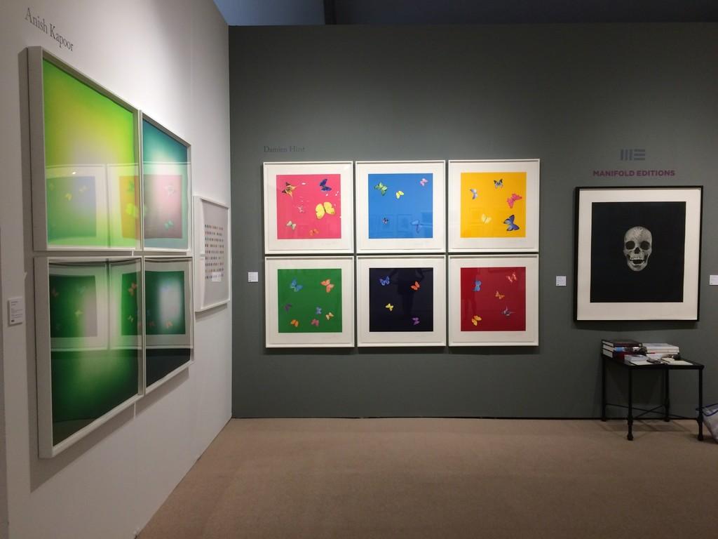 Anish Kapoor, Damien Hirst, Manifold Editions.