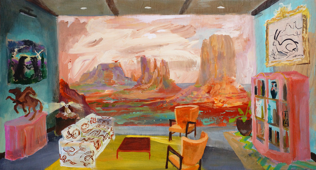 Johnny Defeo, 'Dusty Spurlocks Rattlesnack Lounge Monument Valley Tribal Park', 2019, Visions West Contemporary