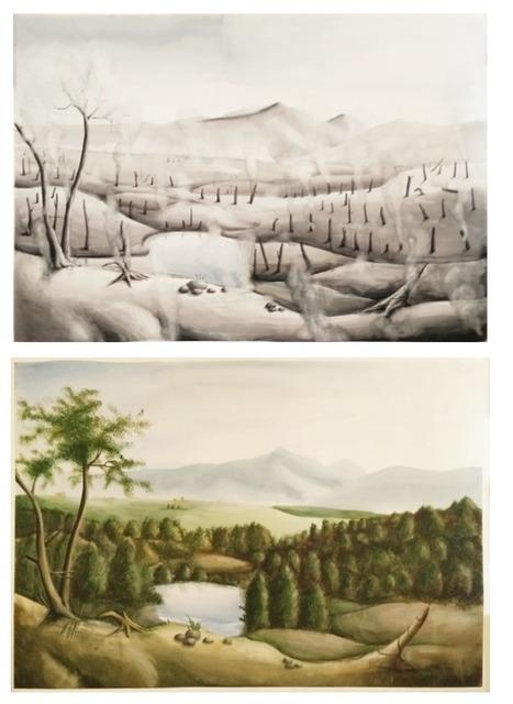 , 'Vedovamazzei After Thomas Cole, Thomas Cole After Vedovamazzei,' 2013, Magazzino