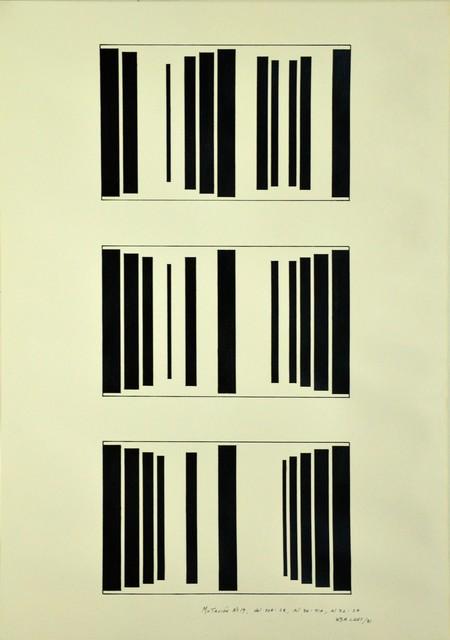 , 'Mutación #19, del 20 A:28, al 36:41 A, al 32:2 A,' 1981, Henrique Faria Fine Art