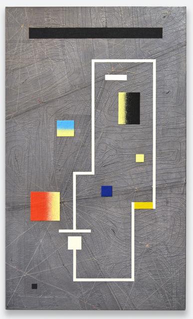 , 'matrix board series 10 - Light emitting rectangle,' 2017, The Flat - Massimo Carasi