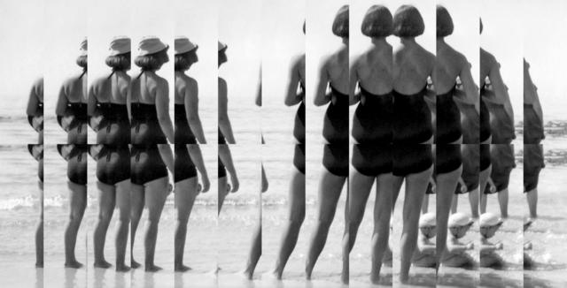 Edouard Taufenbach, 'Sur la plage', 2019, Elizabeth Houston Gallery