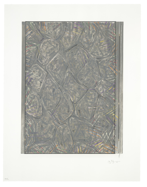 Jasper Johns, 'Within', 2007, Print, Intaglio in 10 colors on Hahnemuhle paper, Universal Limited Art Editions