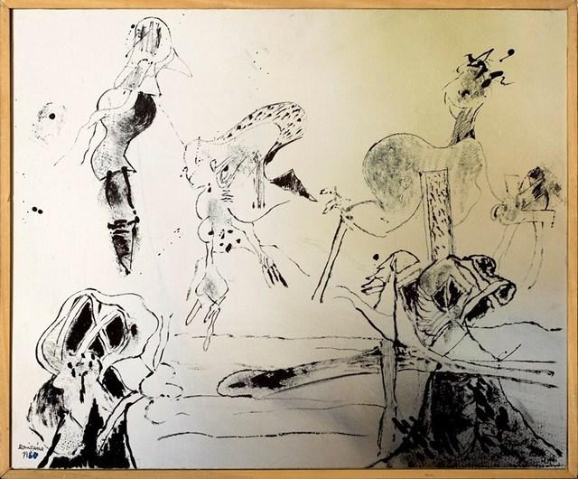 , 'Paisaje dibujo ,' 1980, Rafael Pérez Hernando Arte Contemporáneo