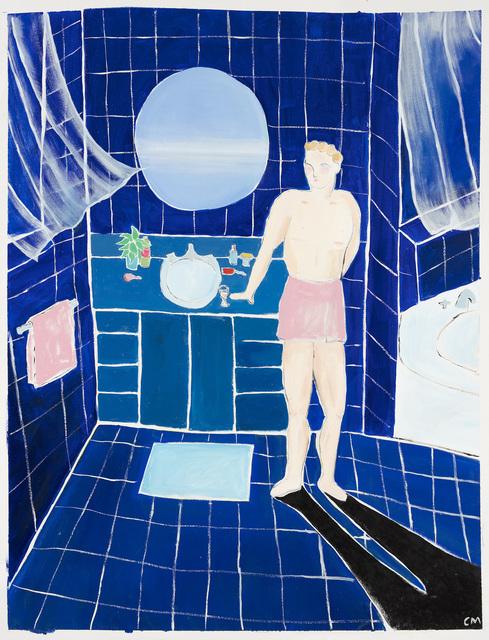 , 'Phthalo Blue Dream,' 2018, Steve Turner