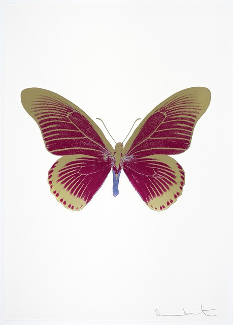 , 'The Souls IV -  Fuchsia Pink/Cool Gold/Cornflower Blue,' 2010, Paul Stolper Gallery