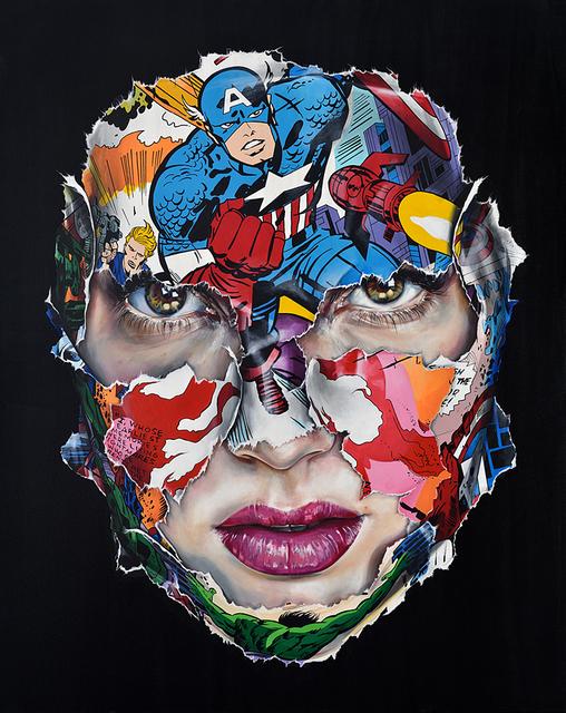 , 'La Cage rouge comme le feu,' 2017, Galerie C.O.A