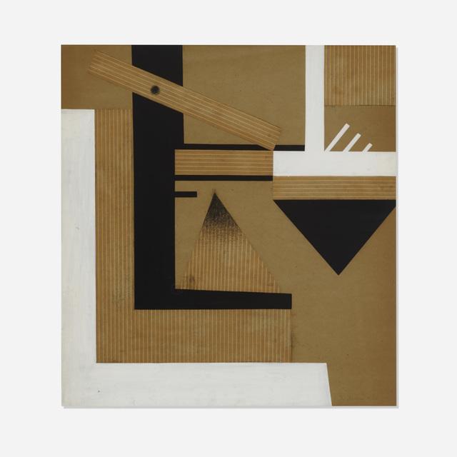 Charles Biederman, 'Untitled (New York #27)', 1936, Wright