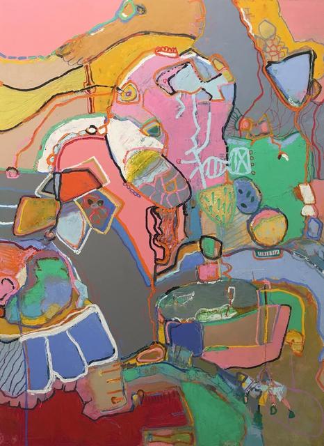 , 'Nefelibata #18,' 2017, Walter Wickiser Gallery