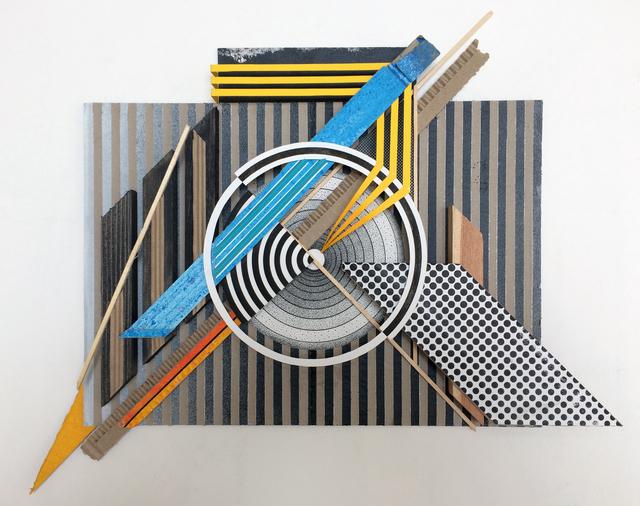 , 'Assemblage sur carton #01,' 2018, Mirus Gallery