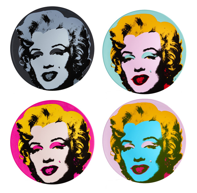 Andy Warhol, 'Marilyn Plate Set', 2016, Artware Editions