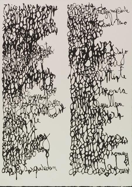 León Ferrari, 'Untitled', 2010, Print, Serigraphy, LAART