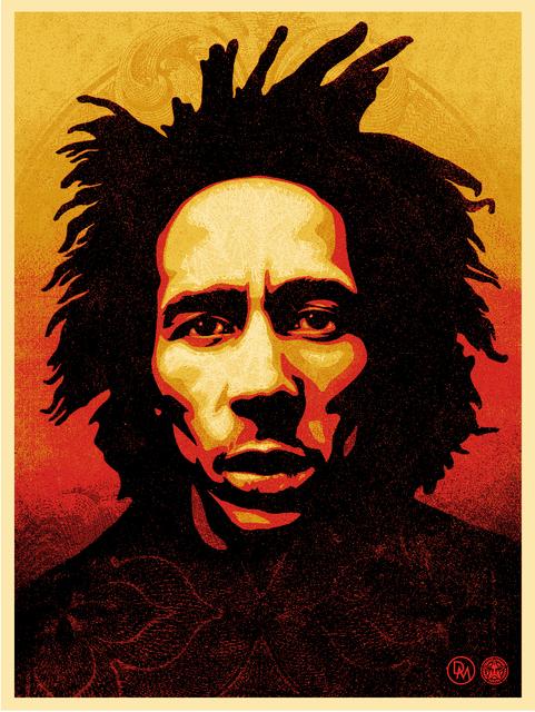 Shepard Fairey, 'Bob Marley', 2014, AYNAC Gallery