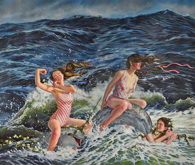 , 'Dark Waters,' 2017, William Baczek Fine Arts