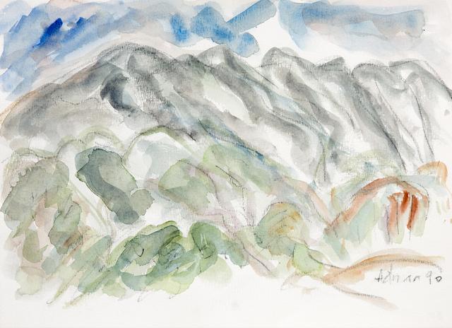 , 'Montagne Sainte Victoire 2,' 1990, Galerie Lelong & Co.