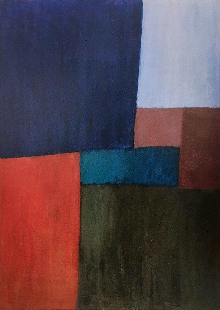 Acrylic on Canvas 100X70cm 1967 R$ 8000,