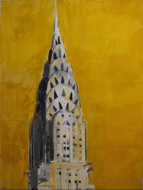 , 'Chrysler Building,' 2009, Rosenfeld Gallery