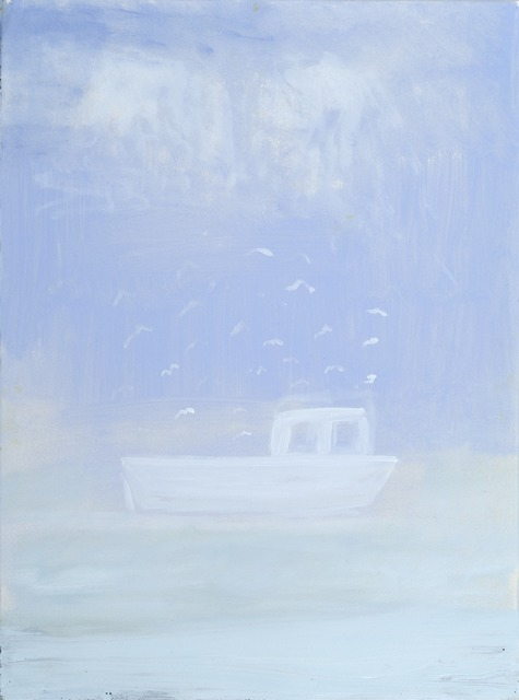, 'Fishing Boat in Blue Water,' 2014, Sears-Peyton Gallery