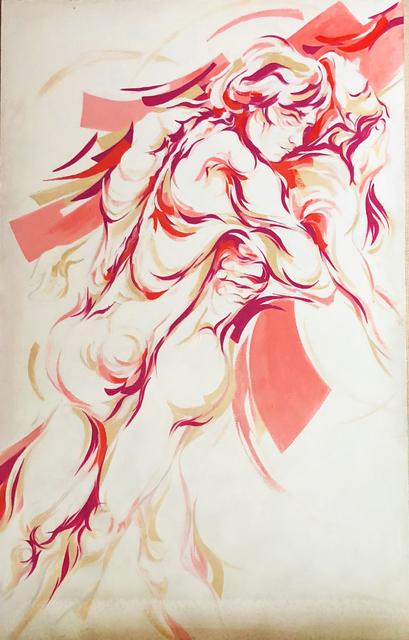 , 'Lovers I,' 1977, Machamux