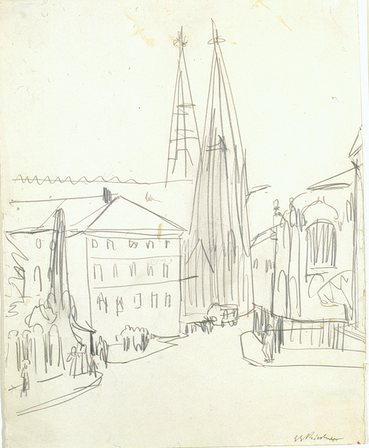 , 'Sophienkirche Dresden,' ca. 1911, Henze & Ketterer