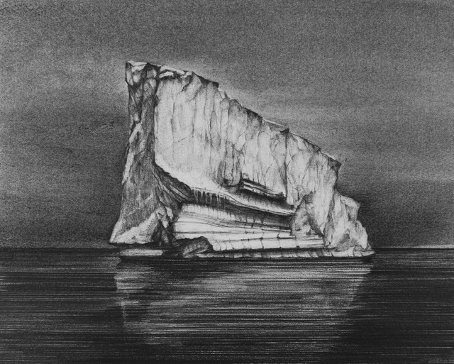 , 'Iceberg Drawing #2,' 2018, Carrie Haddad Gallery