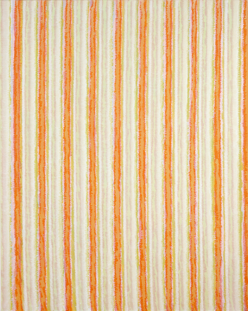 , 'Vertical Stripes Eight,' 2013, Charles Nodrum Gallery