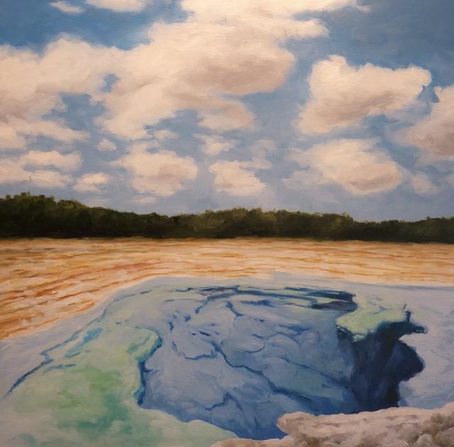 , 'Sapphire Pool,' 2019, STUDIO Gallery