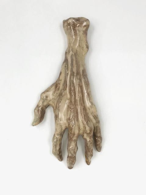 Klara Lilja, 'Hand of Glory - Rutil', 2019, Sculpture, White clay, glaze (stoneware), V1 Gallery