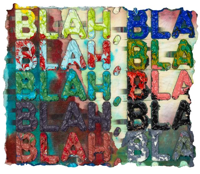 Mel Bochner, 'Blah Blah Blah', 2010, Hindman