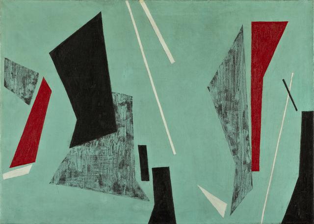 , 'Study in Equilibrium,' 1955, Jorge Mara - La Ruche