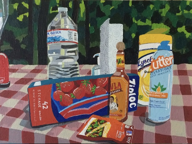 , 'Camping Still Life,' 2016, Orth Contemporary
