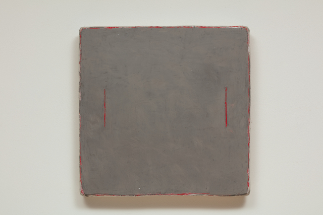 , 'Two Red Lines,' 2018, Marc Straus