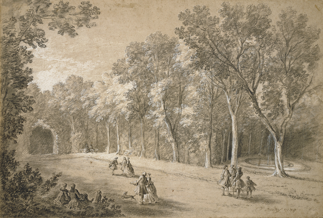 Jean-Baptiste Oudry, 'Park Scene', 1744, J. Paul Getty Museum