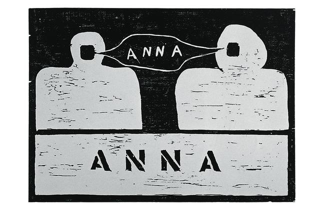 , 'ANNA,' 1967, Galeria Millan