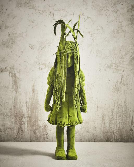 , 'Standing Moss Shaman Girl,' 2017, Jason Jacques Gallery